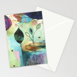 """""""Abundance"""" Original Painting by Flora Bowley  Stationery Cards"""