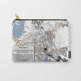 Atlas of Inspiring Protests; VÄXJO Carry-All Pouch