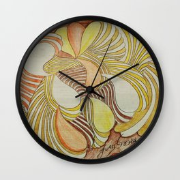 CREPUSCULO 11 Wall Clock