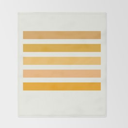 Halloween Colors Art Print Throw Blanket