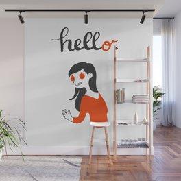 Hell-o Wall Mural