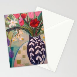 Spring Luncheon Bouquet Stationery Cards