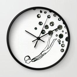 Diver 1 Wall Clock