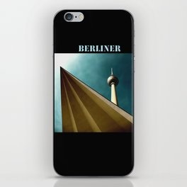 Berliner Tower Art iPhone Skin