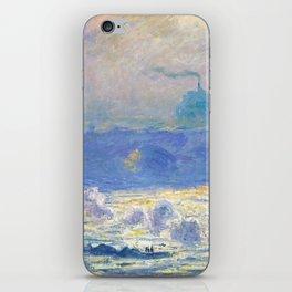 "Claude Monet ""Waterloo Bridge"" iPhone Skin"