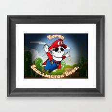 Super Skellington Bros. Framed Art Print