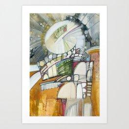 Sacred Anatomy VII Art Print