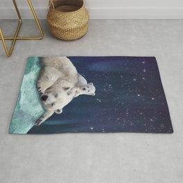 Polar Bears Rug