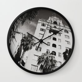 Art District Walk Shot Wall Clock
