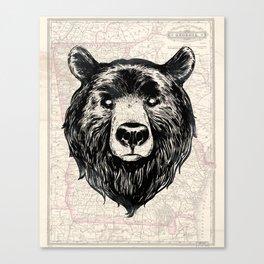 GA bear Canvas Print