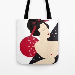 Pop Shunga Tote Bag
