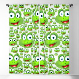 Cute Frogs Blackout Curtain