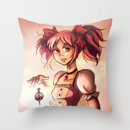 Madoka Throw Pillow