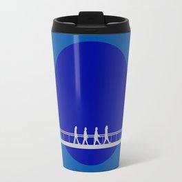 A Walk in the Blue Travel Mug