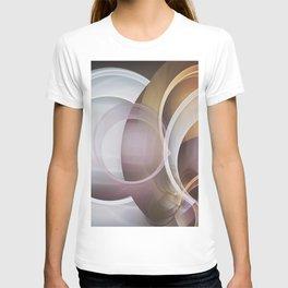 Fractal Circles Abstract T-shirt