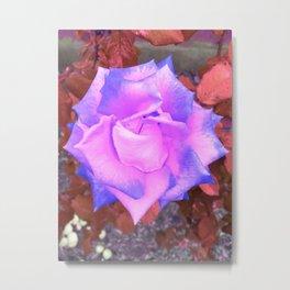 Alien Rose Metal Print