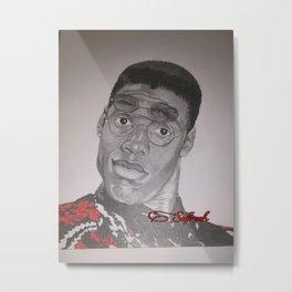 Dwayne Wayne Metal Print