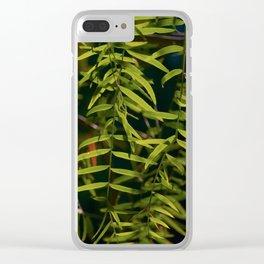 Emerald veil Clear iPhone Case