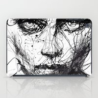 agnes iPad Cases featuring In trouble, she will. by agnes-cecile