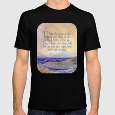 Wings Of The Morning MEDIUM Mens Fitted Tee Black