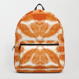 Orange Tie-Dye Twos Rucksack