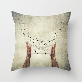 lure Throw Pillow