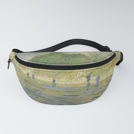Vincent van Gogh - Bank of the Seine (1887) Fanny Pack