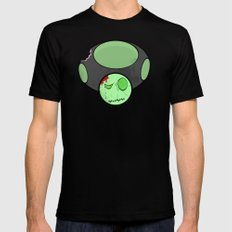 Zombie Toad Black MEDIUM Mens Fitted Tee
