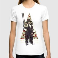 planet of the apes T-shirts featuring Mafia apes by Luiz Fogaça