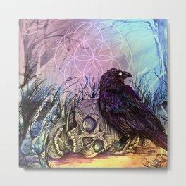 Softly death Metal Print