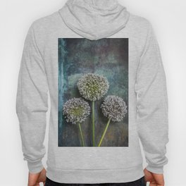 Three Allium Flowers Hoody