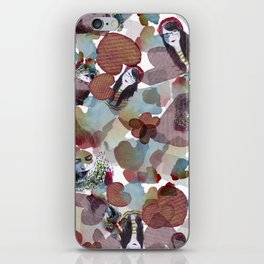 Girls on blossoms iPhone Skin