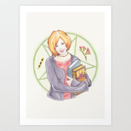 Willow Rosenberg of Buffy Art Print