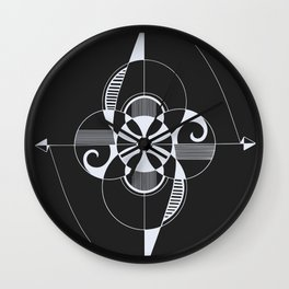 Connect-Reject-Rejoin-Reverse Wall Clock