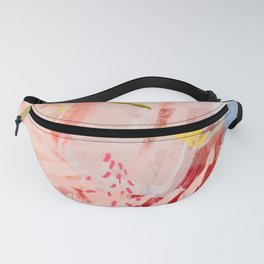 the flow landscape abstract art Fanny Pack