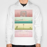 wes anderson Hoodies featuring A Wes Anderson Collection by George Townley
