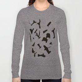 Rock N' Ice Print Long Sleeve T-shirt
