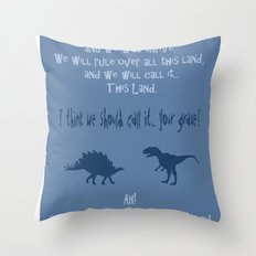 curse you and your sudden but inevitable betrayal, firefly serenity Throw Pillow