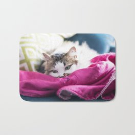 @somecallmefluff Fluff is Having a Boring Saturday Bath Mat