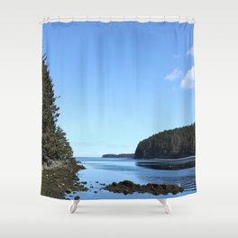 Alaskan Beach Photography Print Shower Curtain