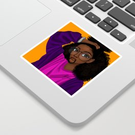 hair up Sticker