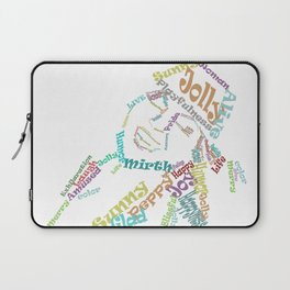 Happy woman III Laptop Sleeve