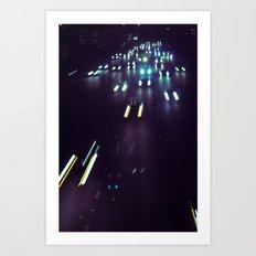 (purp)xSTREETZ4 Art Print