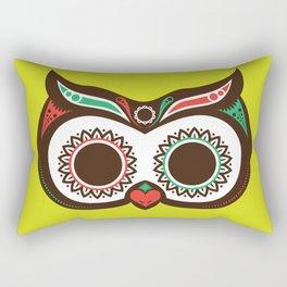 Day 0f the Dead Owl Rectangular Pillow