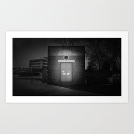 The Christchurch Electricity Substation Project XXI Art Print