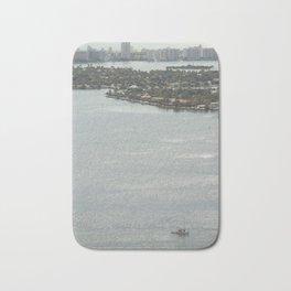 Biscayne Bay Skyline Bath Mat