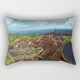 EL TRONCO EN LA CIMA Rectangular Pillow
