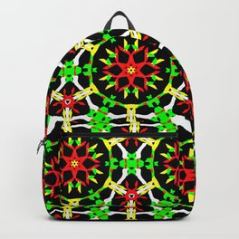 Poinsettia Patterns Backpack