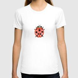 Ladybug   Entomology watercolor art T-shirt