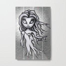 Ghost Zero Metal Print